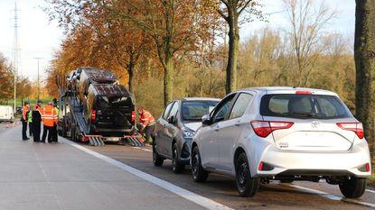 Politiezones controleren zwaar transport op N45
