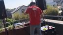 Nicky Romero op zijn dakterras op Koningsdag