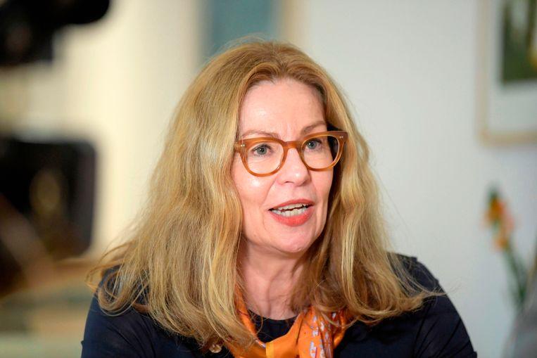 Birgitte Bonnesen. Beeld AFP