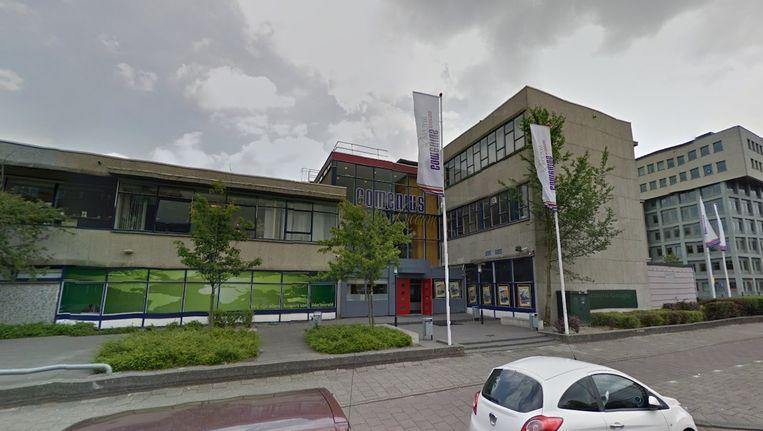 Het Comenius College in Amsterdam Nieuw-West Beeld Google Street View