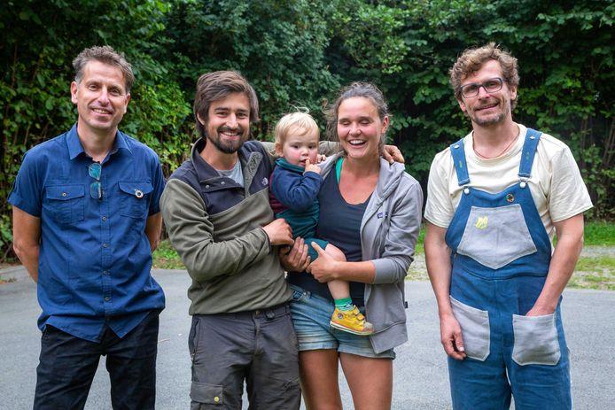 Herzele: Steven Rowaert, Hannes Van den Bossche en Betse De Vos en Kris Van de Velde.
