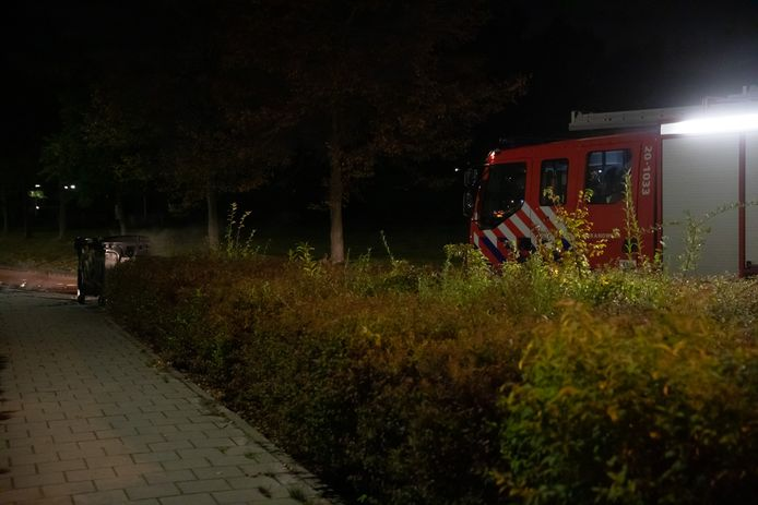 Brandweer ter plaatse in Roosendaal.