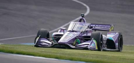 Voormalig Formule 1-coureur Romain Grosjean verrast met pole in IndyCar