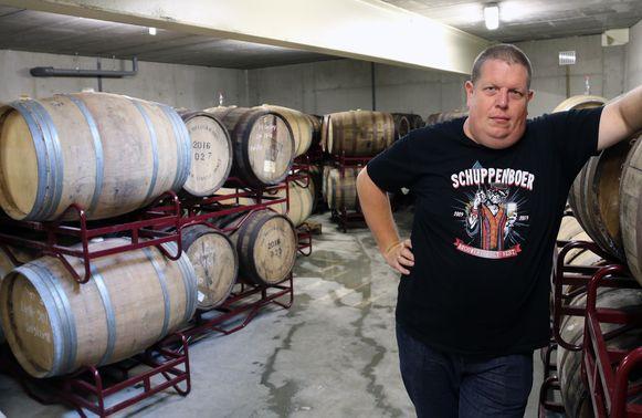 Bart Cuypers van brouwerij Het Nest.