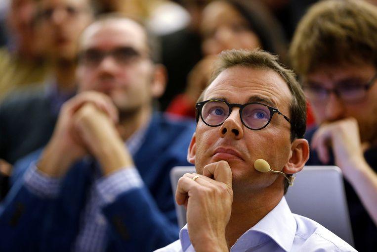 Slaagt voorzitter Wouter Beke erin om CD&V het grootst te houden? Beeld BELGA