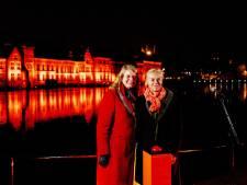 Internationale dag geweld tegen vrouwen: gebouwen in Achterhoek kleuren oranje