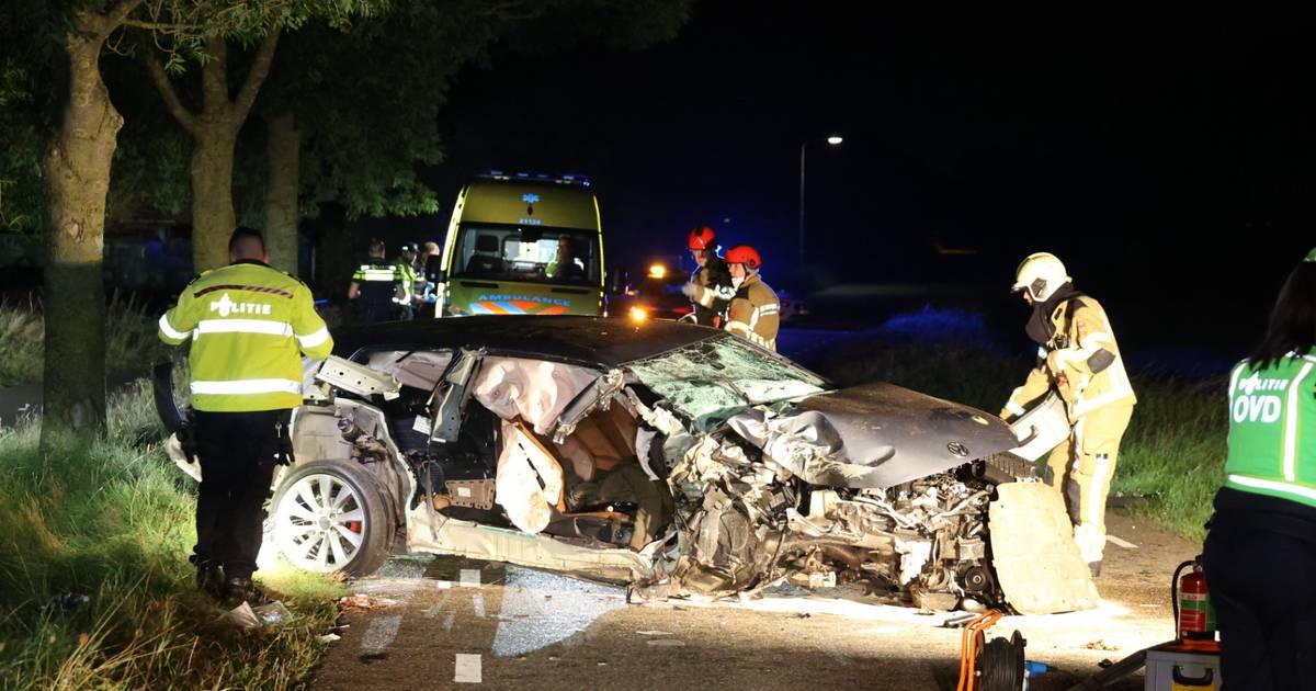 Zwaargewonde bij ernstig ongeluk in Oudheusden.