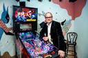 """Het Jenevermuseum in Hasselt lanceert een gloednieuwe expo 'Pinball Mania'. """"Waar bezoekers zélf kunnen komen 'flipperen'"""", aldus directeur Davy Jacobs."""