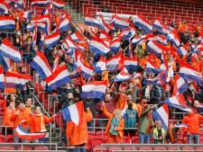 Oranje bij uitzwaaiwedstrijd voor EK gesteund door 7500 supporters