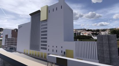 Granero Industrio blaast site Hanekop nieuw leven in als stockageruimte