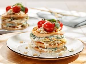 Wat Eten We Vandaag: Open lasagne met pompoen, spinazie en paddenstoelen