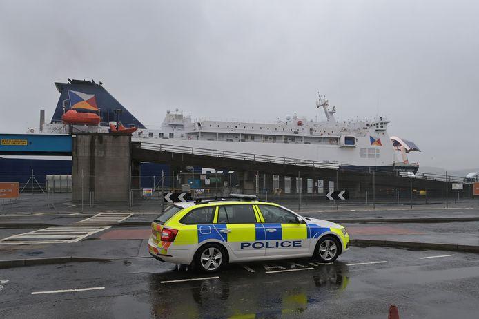 Politie in Ierland. Foto ter illustratie.