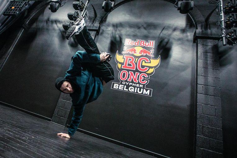 Yolan is één van de vier Gentse breakdancers die mag deelnemen aan het BK.