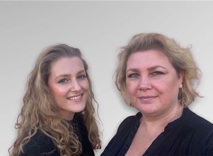 Bo Perrel (22) en Suzanne Wermeester (49) uit Puttershoek.