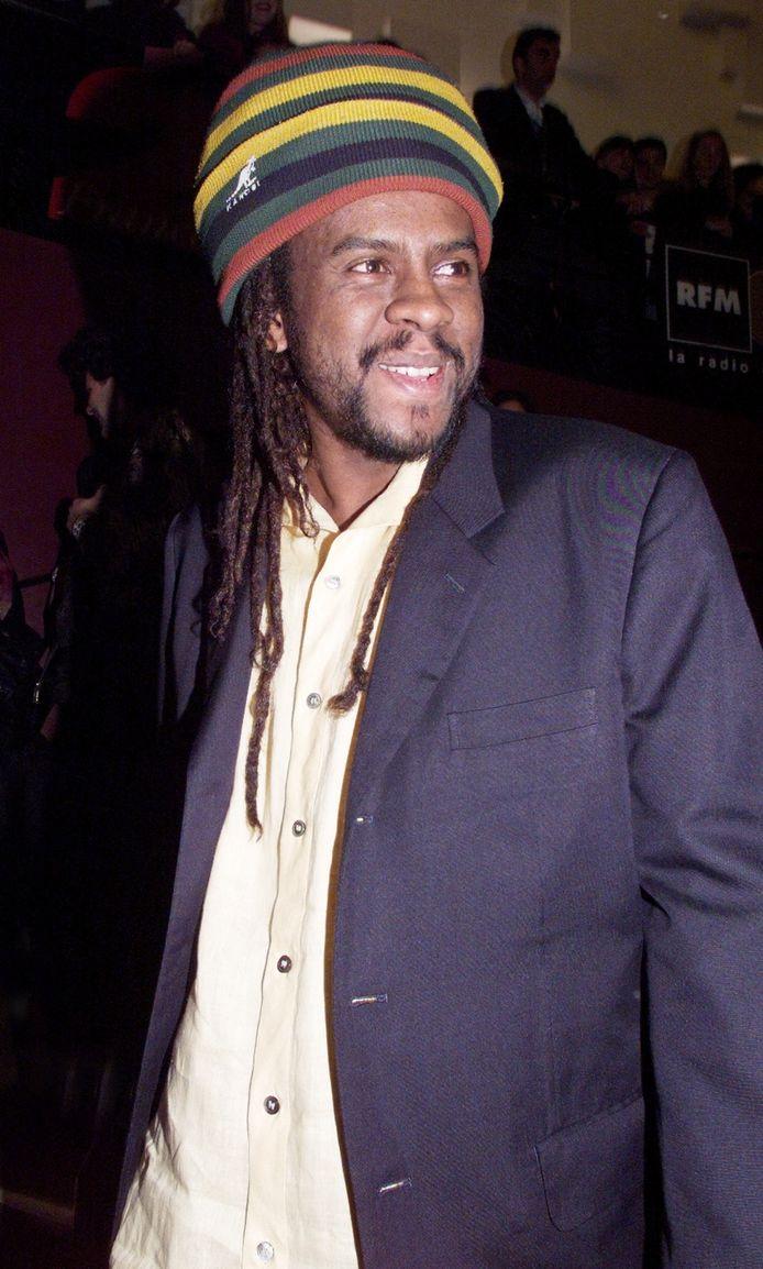 Le chanteur de reggae français Tonton David.