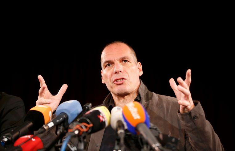 Yanis Varoufakis wil zijn beweging DiEM2025 in alle Europese landen registreren en in 2019 deelnemen aan de volgende Europese verkiezingen. Beeld REUTERS
