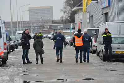 Grote controle bij bedrijven aan de Smalle Reep in Breda