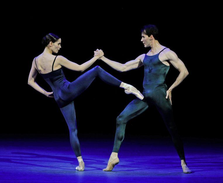 4. Igone de Jongh. Met Jozef Varga danst ze een ballet van Hans van manen in het Bolshoi. Beeld Dzhavakhadze Zurab / HH
