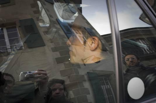 Contador vertrekt bij sporttribunaal CAS in Lausanne, Zwitserland.
