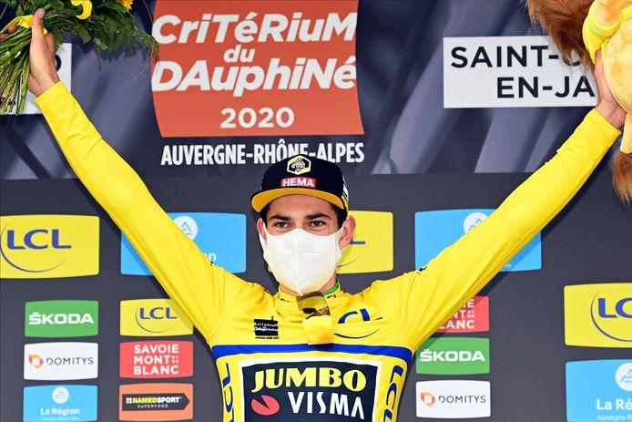 Wout Van Aert a encore frappé sur les routes du Dauphiné.