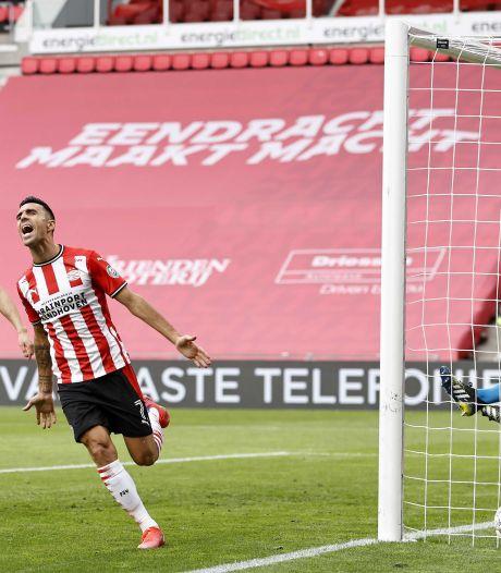 Samenvatting | Curieuze eigen goal en treffer emotionele Zahavi kleuren zege van PSV