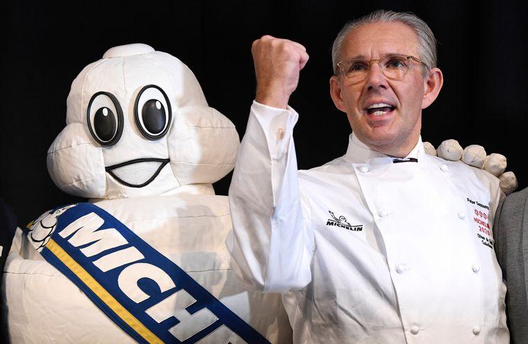Na zijn bekroning in de Michelingids staat Peter Goossens met Hof Van Cleve ook hoog genoteerd in de Franse lijst 'La liste'. Beeld Photo News