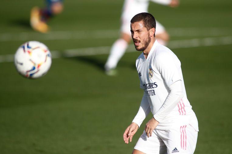 Eden Hazard speelde sinds 14 januari 213 minuten.  Beeld Photo News