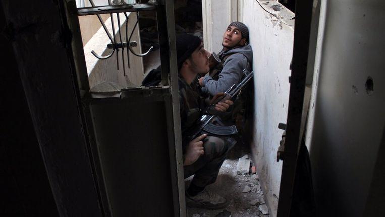 Rebellen in Syrië. Beeld afp