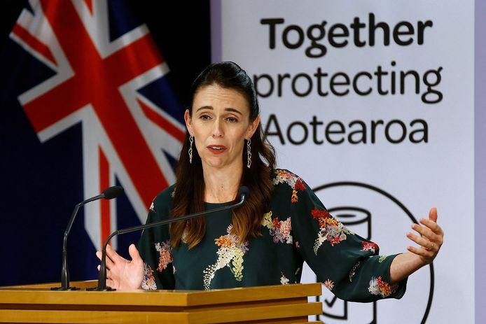 De Nieuw-Zeelandse premier Jacinda Ardern op archiefbeeld.
