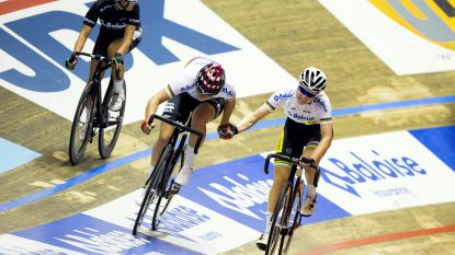 Wereldkampioenen ploegkoers D'hoore en Kopecky moeten duimen leggen in Zesdaagse van Gent