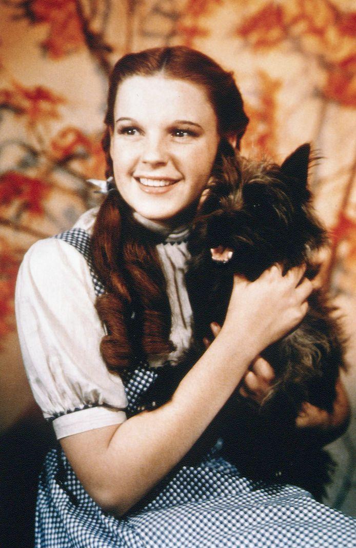 Judy Garland en het hondje Terry