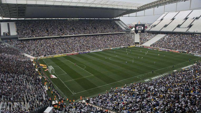 De Arena de Sao Paulo, waar de Duivels hun laatste groepsmatch tegen Zuid-Korea spelen.