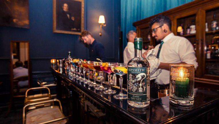 De martini's staan dit weekend klaar. Beeld Ming Chau