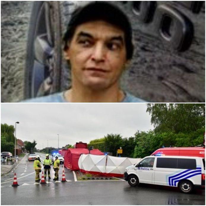 Eddy Van De Vijver kwam maandag om in een verkeersongeluk