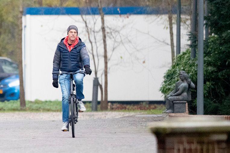 Zo kwam premier Rutte vorige week aan bij het Catshuis voor overleg over de corona-epidemie. Het overleg van vandaag was niet gepland, maar is nodig door de slechte coronacijfers. Beeld BSR Agency