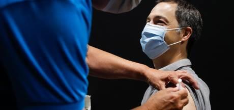 Alexander De Croo a reçu sa première dose de vaccin
