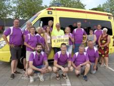 2.500 euro voor Wensambulance Brabant