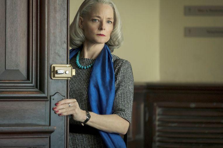 Jodie Foster in 'The Mauritanian'. Beeld Graham Bartholomew