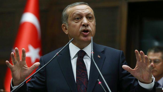 De uitspraken van minister Müezzinoglu doen de Turkse president Erdogan (foto) wellicht veel plezier.