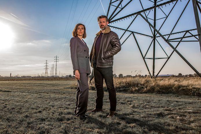 Sara De Roo en Geert Van Rampelberg spelen de hoofdrollen in de Eén-reeks 'Black-out'.