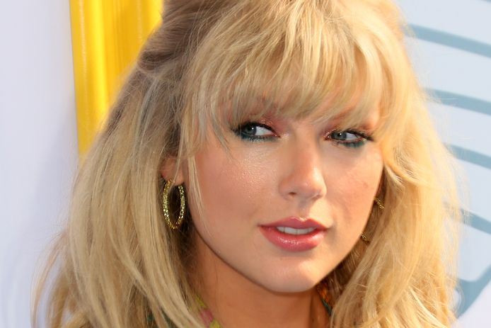 US singer Taylor Swift attends the 2019 Teen Choice Awards in Hermosa Beach, California, August 11, 2019