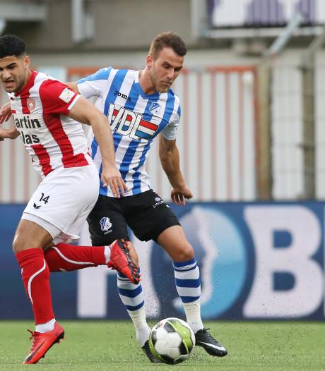 Horsten houdt conditie op peil bij Jong PSV na vertrek bij FC Eindhoven