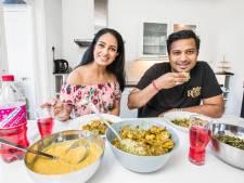Traditioneel Hindoestaans-Surinaams eten: 'Over alles doen ze enkele eetlepels dahl'