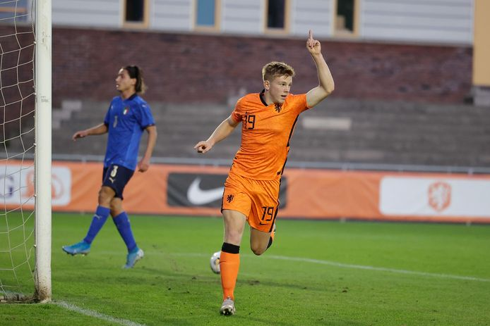 Devin Haen scoorde tweemaal tegen Oostenrijk.