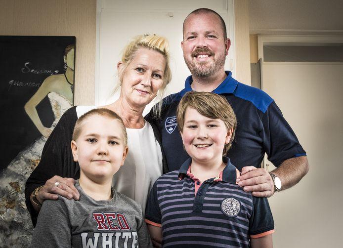 De Haaksbergse Reinette de Boer en haar gezin liggen onder vuur bij Veilig Thuis.