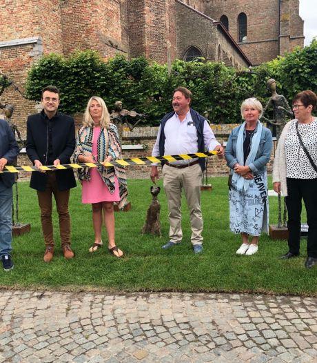 """Beeldenroute in Lissewege is open: """"We verwachten meer volk dan anders"""""""