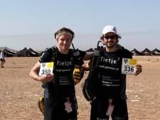 Jonathan (30) en Ruben (31) halen 12.000 euro op na zeven dagen lopen door de Sahara