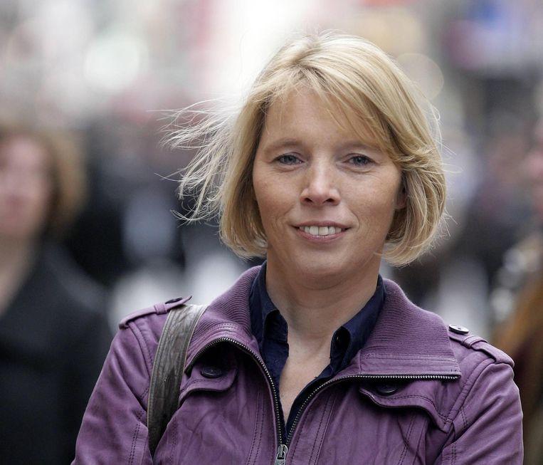 NSZ-voorzitter Christine Mattheeuws. Beeld belga