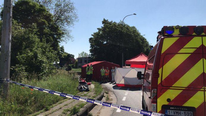Het ongeval gebeurde op de Grenadiersbrug.
