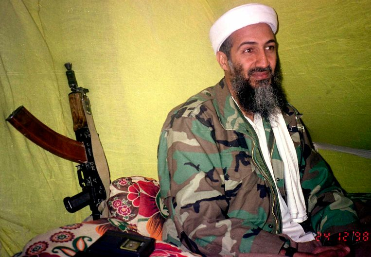 Osama Bin Laden in december 1998.
